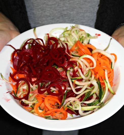 grønsagsspaghetti
