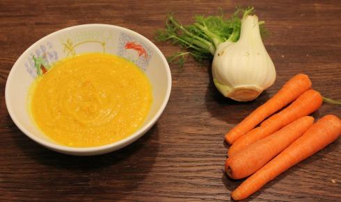 Suppe Gulerod og Fenikel