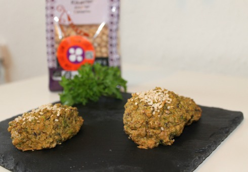Grønne falafler